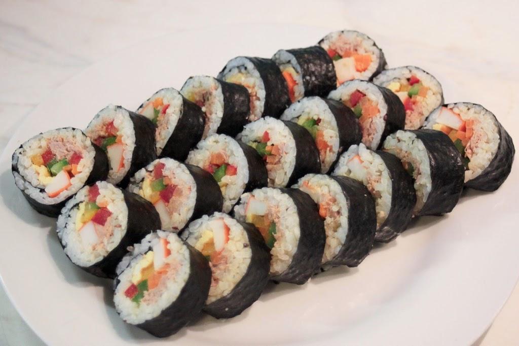 Cuisine cor enne le kimbap kimshii for Cuisine coreenne
