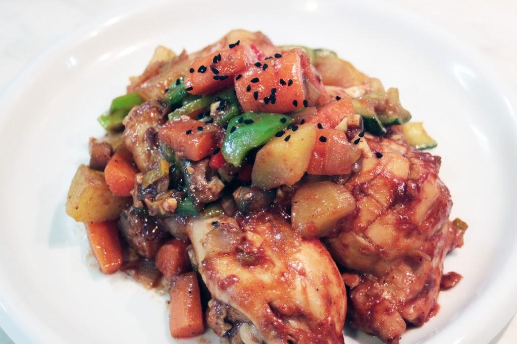 Cuisine cor enne le poulet aux l gumes kimshii for Cuisine coreenne