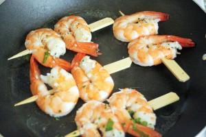 cuisinecoreenne-brochettecrevette4