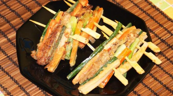 Cuisine cor enne sanjeok gotchi brochettes de viande et for Cuisine coreenne