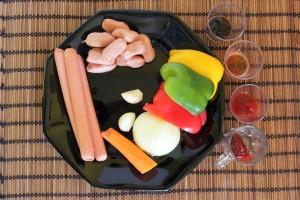 recette-coreenne-saucisse-poivrons1 copie