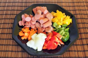 recette-coreenne-saucisse-poivrons4 copie